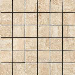 Absolute Mosaico Lappato Travertino Beige