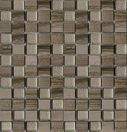 Mosaico Time Text Silk Wood