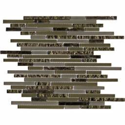 Mosaico Eternity Mini Strip Emperador