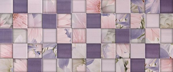Aquarelle Lilac Wall 03